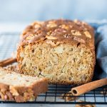 Apple Cake with chunks of fresh apple, walnut is super moist and a perfect cake with your afternoon tea. With a hint of cinnamon, this cake has tender crumbs and chunks of apple in every bite.
