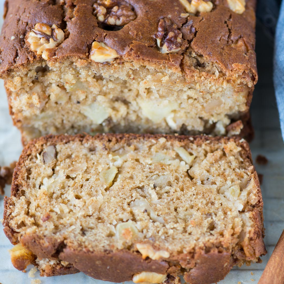 Moist Apple Cake recipe with oil,yogurt, walnut isa perfectcake with your afternoon tea. With a hint of cinnamon, this cake has tender crumbs and chunks of apple in every bite.