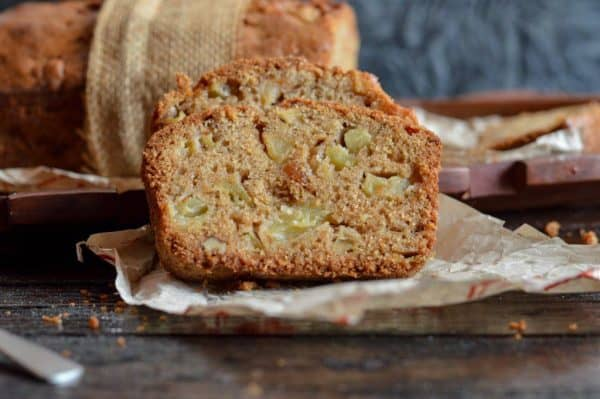 Chunky Apple Cake With Walnut And Rum Recipe The Flavours Of Kitchen