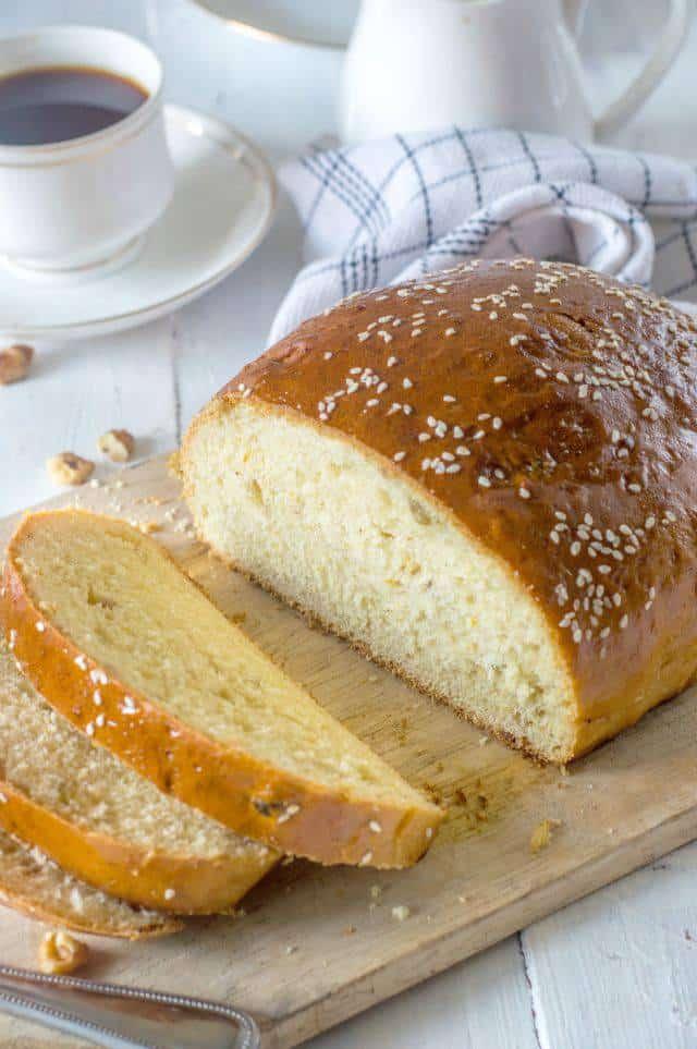 Artos Greek Celebration Bread Recipe The Flavours Of
