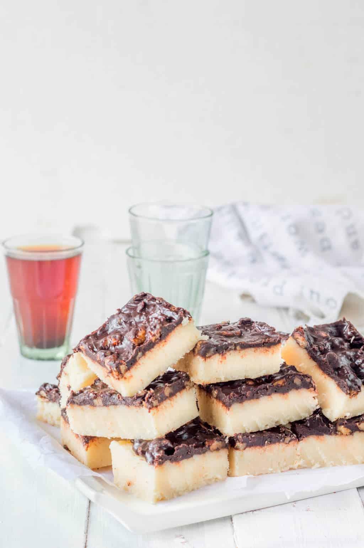 Coconut & White Chocolate Fudge Recipe   The Flavours of Kitchen