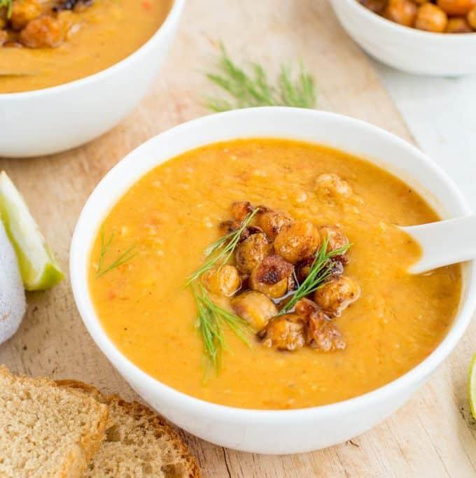 Lentil & coconut milk Soup