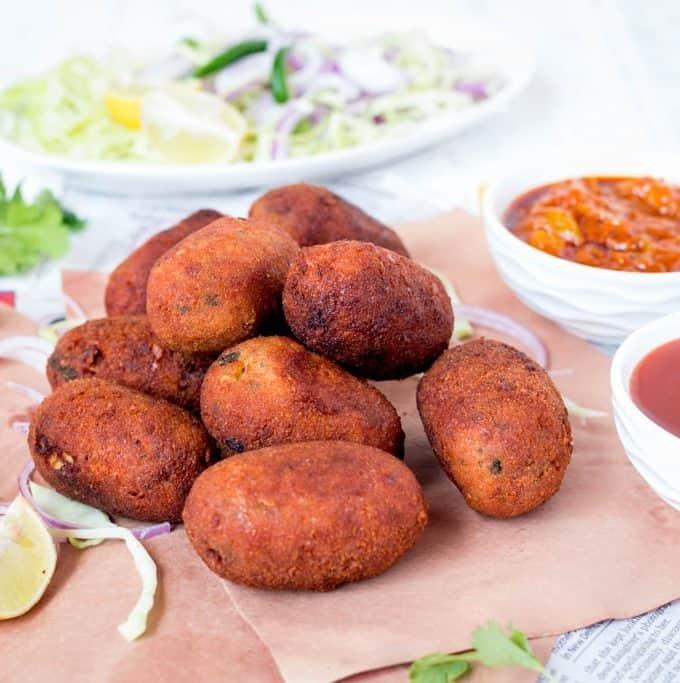 Chicken Chop/Croquette – Bengali Style