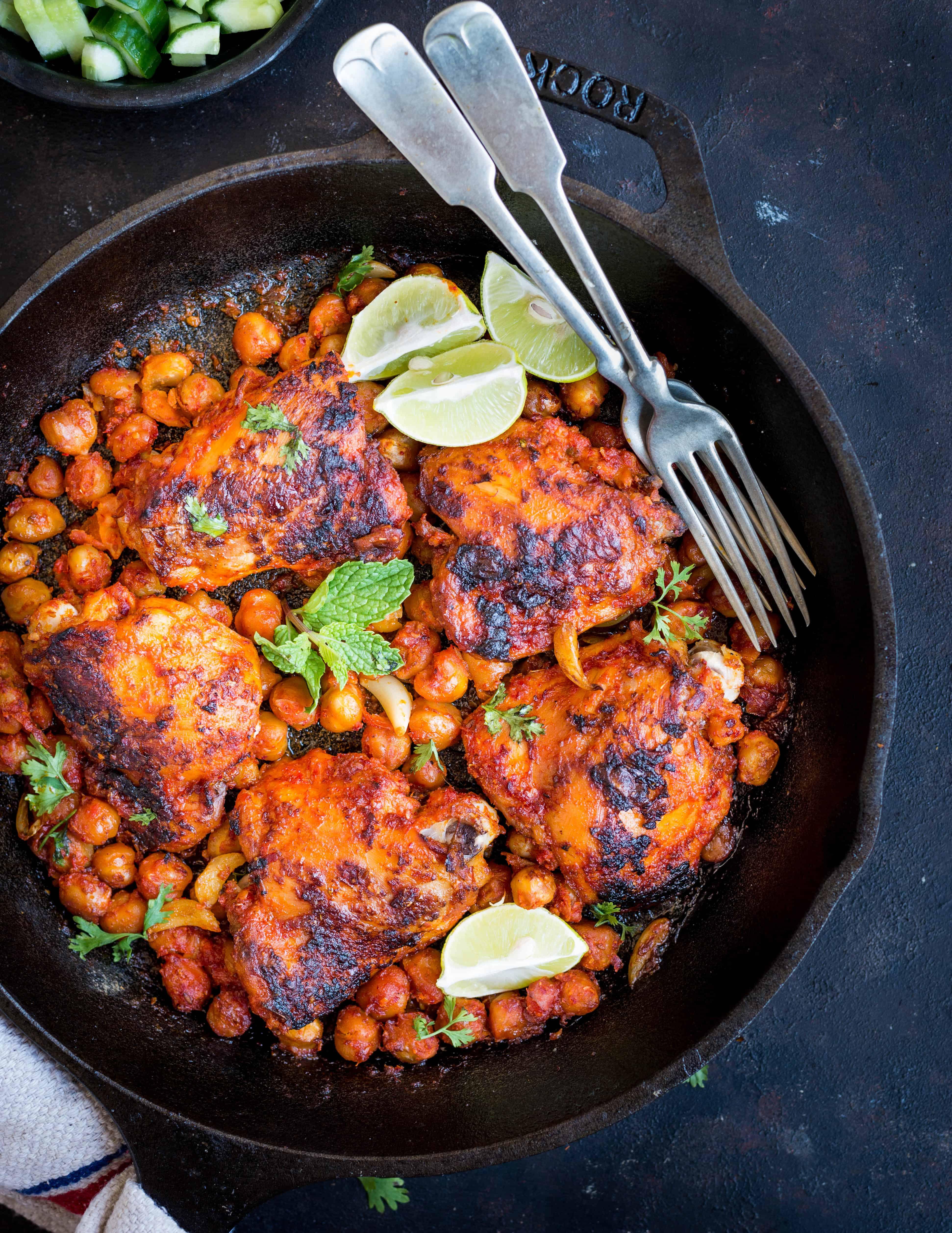Roasted Harissa Chicken The Flavours Of Kitchen