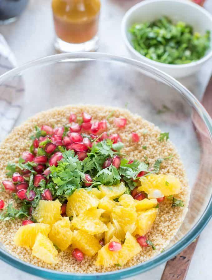 Couscous Salad With Orange Vinaigrette