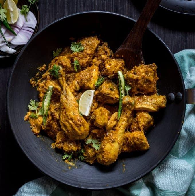 Zero-Oil Chicken Curry