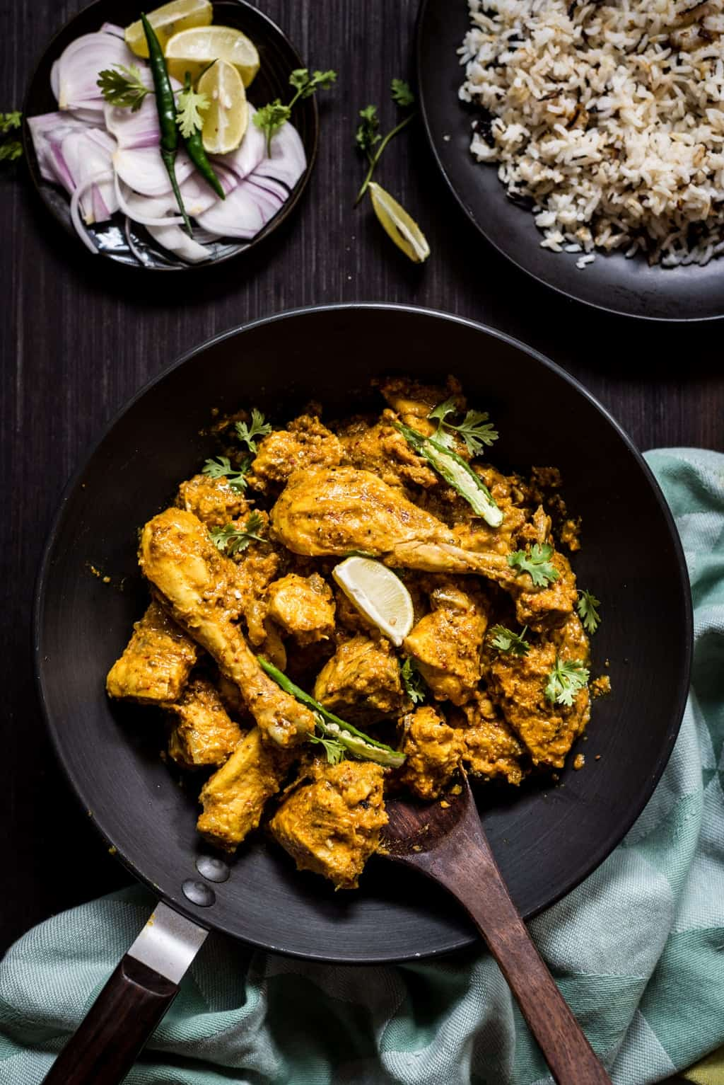 Zero oil chicken curry recipe the flavours of kitchen this chicken curry will taste best when you use fresh ground spices dont go for shortcut and use readymade powders print recipe forumfinder Choice Image