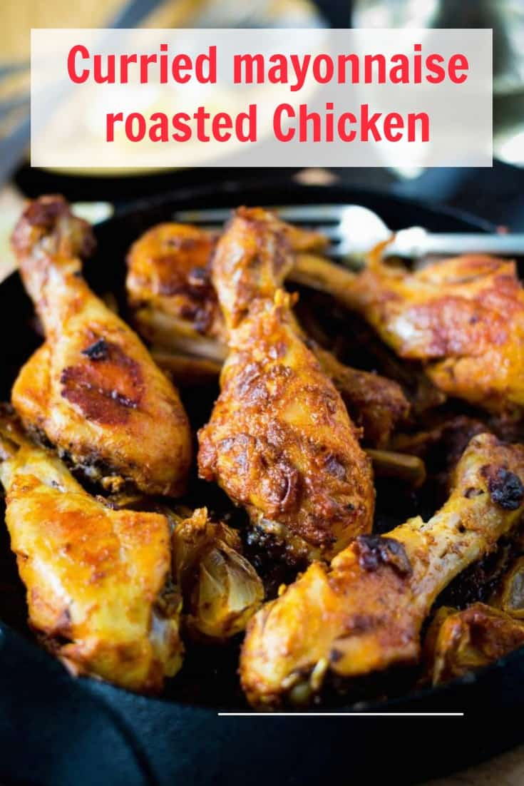 curried mayonnaise chicken drumsticks recipe the