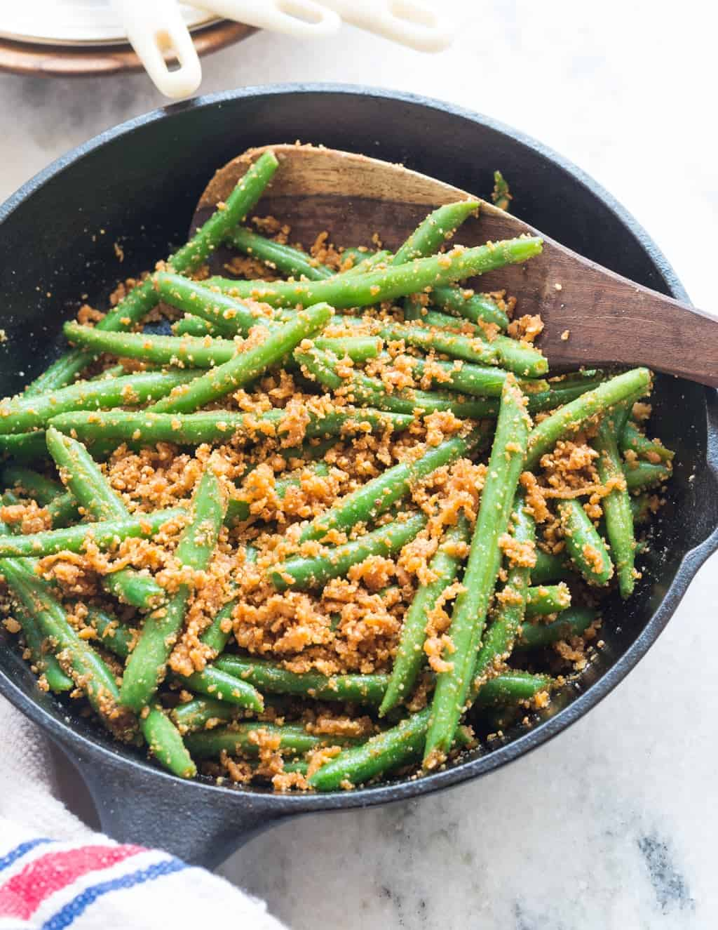Green beans with peanutscoconut and garlic recipe the flavours of i usually do a stir fry with lots of onion or south indian style thoran beans stir fry works best with hot steamed rice or phulkas forumfinder Choice Image