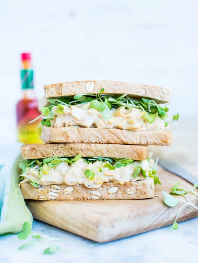 Chipotle Egg Salad Sandwich