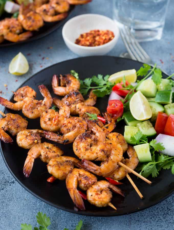 Grilled Vietnamese Prawns/Shrimps