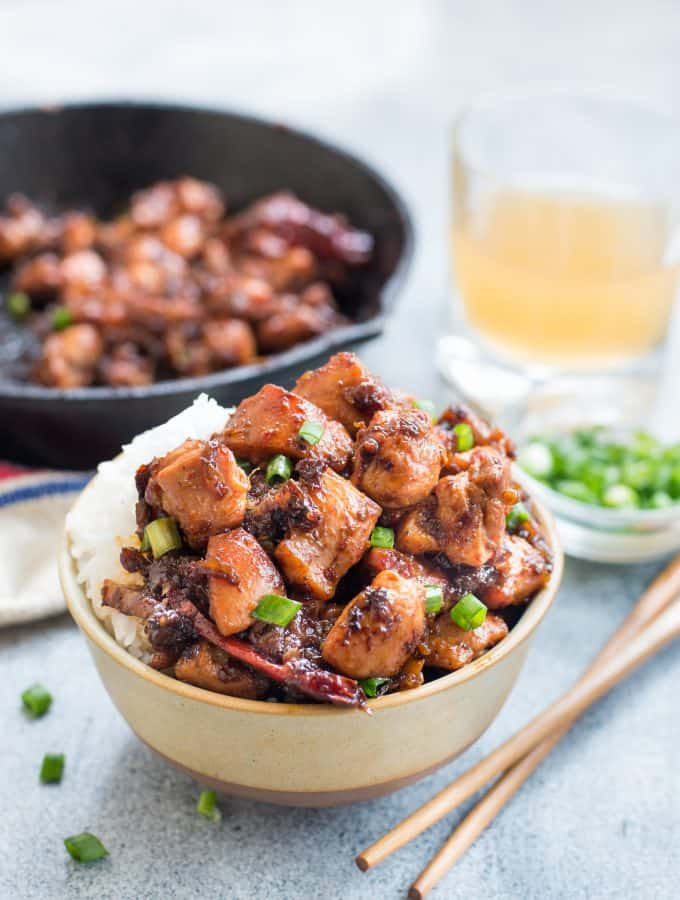 Chinese Five Spice Ginger Chicken