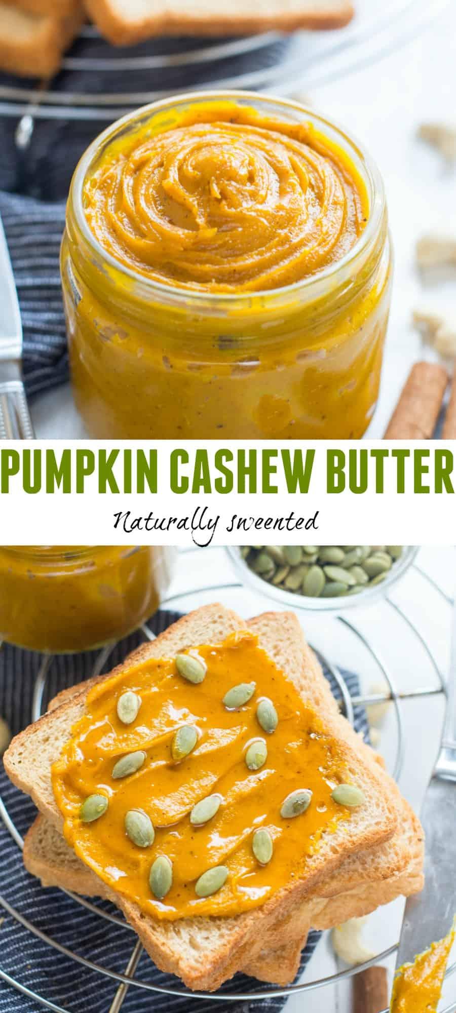Pumpkin Cashew Butter
