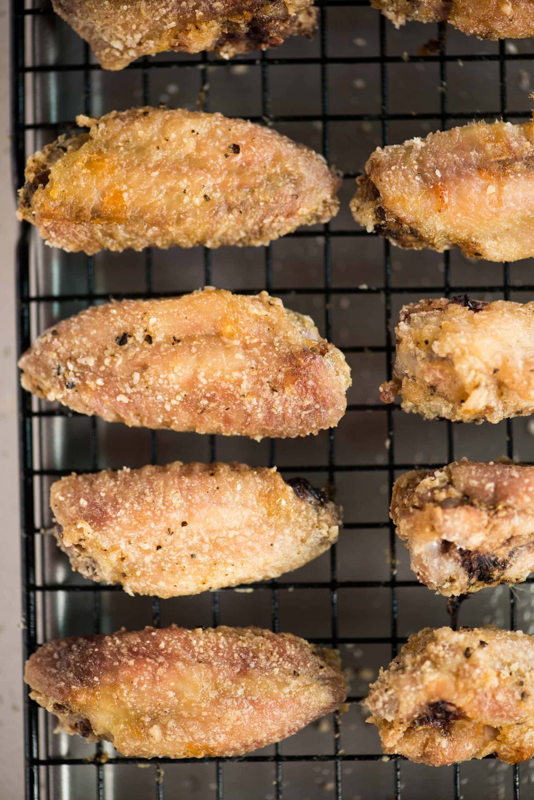 Oven baked Crispy Chicken Wings