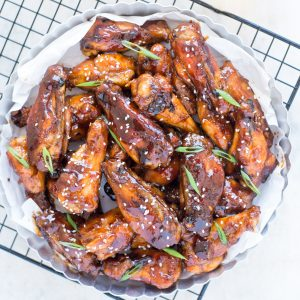 Healthy Sweet and Sour Chicken Wings