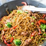 Chicken Ramen Noodle with a flavourful stir-fry sauce takes only 20 minutes to make and is better than take-out. This Easy Ramen Noodle recipe is a perfect mid-week dinner and customization to your preference.