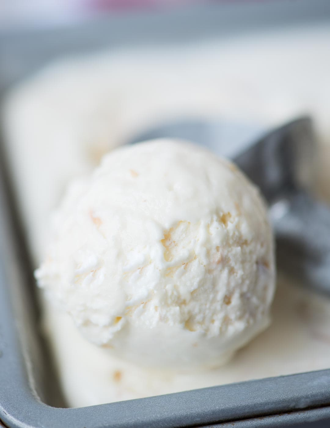 With real coconut flavour from Coconut milk, this Coconut Ice Cream is so easy to make. It is no churn and you don't even need an Ice cream maker. Beautiful light texture and Creamy, this Coconut Ice Cream is a must try in Summer.