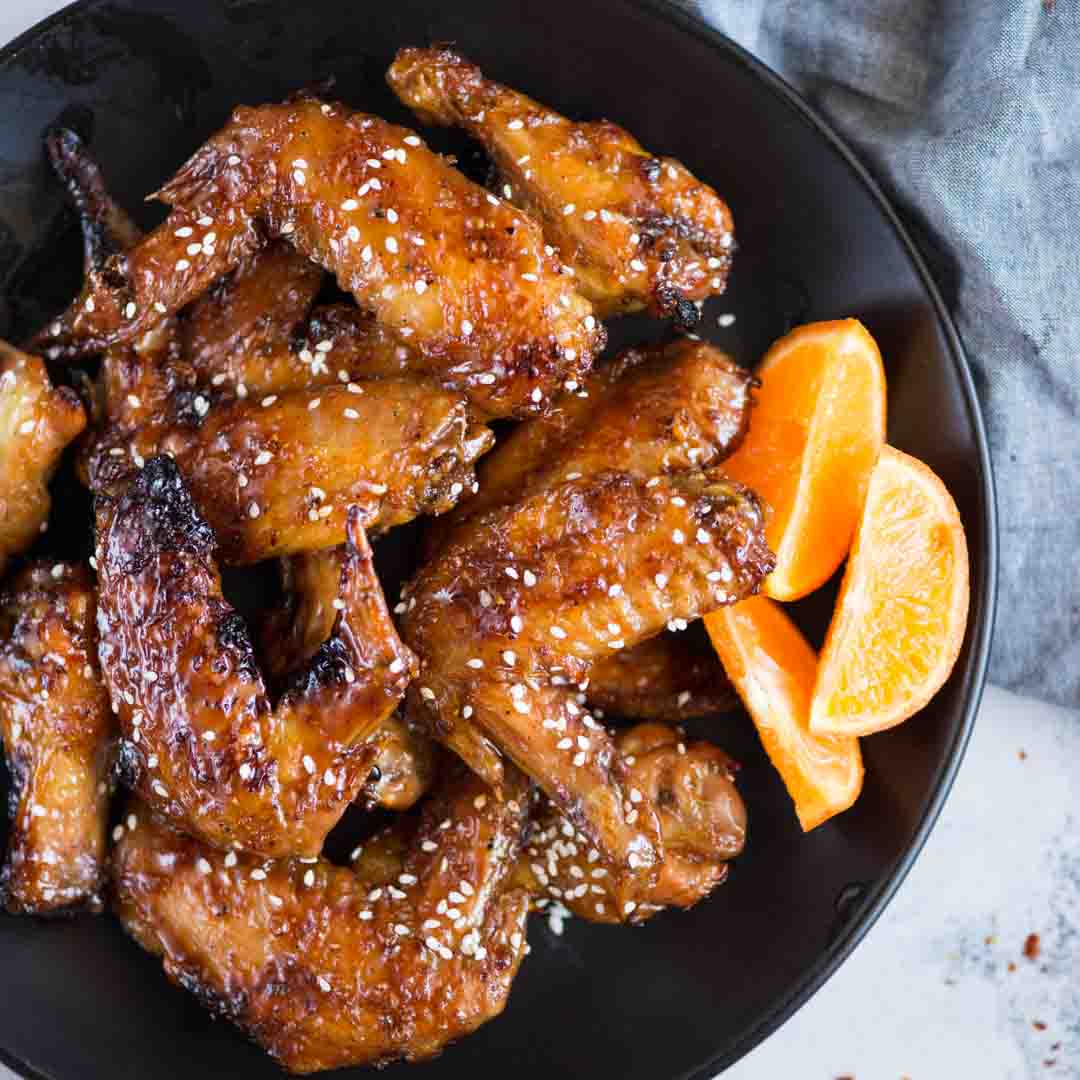 Amazingly crispy and Juicy Air fryer Chicken Wings are healthy with zero oil in it. With three different flavour variations, these chicken wings are always a party hit.