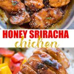 Honey Sriracha Chicken has Juicy chicken thighs in an incredibly delicious sticky, sweet and spicy Honey Sriracha sauce. You need less than 20 minutes to make this recipe with basic pantry ingredients.