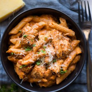 Chicken pasta done in Instant pot